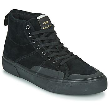 Schuhe Herren Sneaker High Globe LOS ANGERED II Schwarz