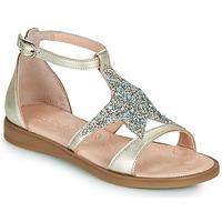 Schuhe Mädchen Sandalen / Sandaletten Acebo's 9895GE-PLATINO-J Gold