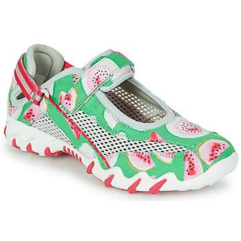 Schuhe Damen Sportliche Sandalen Allrounder by Mephisto NIRO Grün