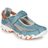 Schuhe Damen Sportliche Sandalen Allrounder by Mephisto NIRO Blau
