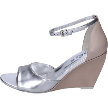 Schuhe Damen Sandalen / Sandaletten Hogan BK658 Silber