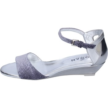 Schuhe Damen Sandalen / Sandaletten Hogan BK661 Blau