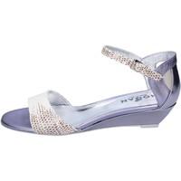 Schuhe Damen Sandalen / Sandaletten Hogan BK662 weiß