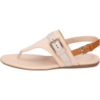 Schuhe Damen Sandalen / Sandaletten Hogan BK664 Beige
