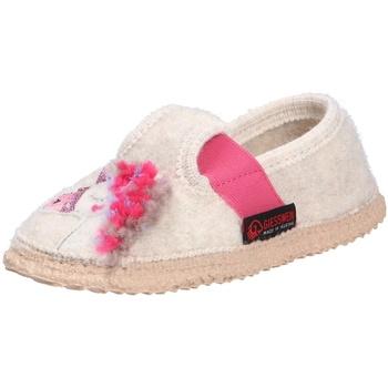 Schuhe Mädchen Hausschuhe Giesswein Mädchen Hausschuhe beige