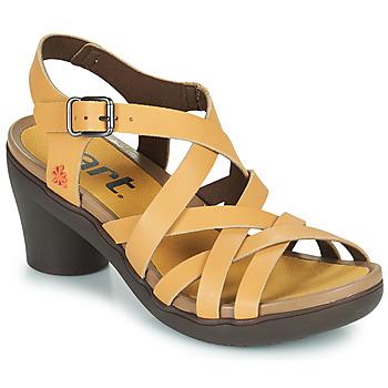 Schuhe Damen Sandalen / Sandaletten Art ALFAMA Beige