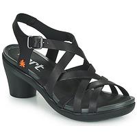 Schuhe Damen Sandalen / Sandaletten Art ALFAMA Schwarz