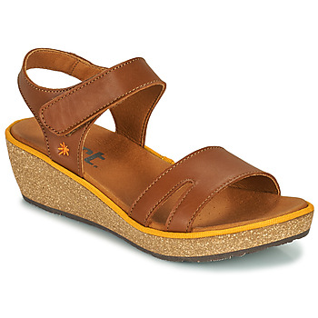 Schuhe Damen Sandalen / Sandaletten Art CAPRI Braun