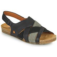 Schuhe Damen Sandalen / Sandaletten Art CRETA Schwarz