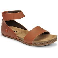 Schuhe Damen Sandalen / Sandaletten Art CRETA Braun