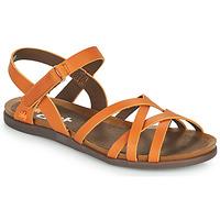 Schuhe Damen Sandalen / Sandaletten Art LARISSA Braun