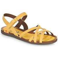 Schuhe Damen Sandalen / Sandaletten Art LARISSA Gelb