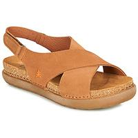 Schuhe Damen Sandalen / Sandaletten Art RHODES Braun