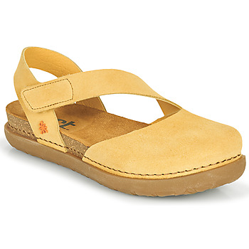 Schuhe Damen Ballerinas Art RHODES Gelb