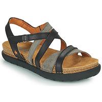 Schuhe Damen Sandalen / Sandaletten Art RHODES Schwarz