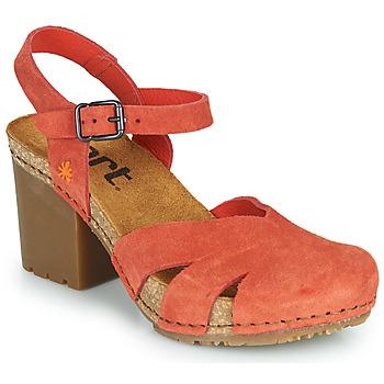 Schuhe Damen Pumps Art SOHO Korallenrot