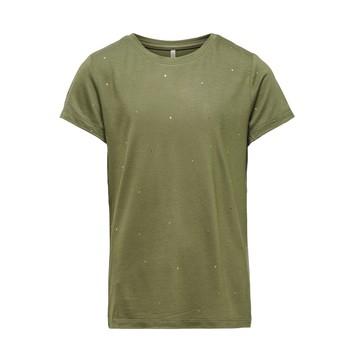Kleidung Mädchen T-Shirts Only KONMOULINS Kaki