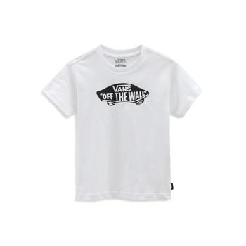 Kleidung Kinder T-Shirts Vans VANS CLASSIC TEE Weiss