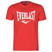 Kleidung Herren T-Shirts Everlast EVL- BASIC TEE-RUSSEL Rot