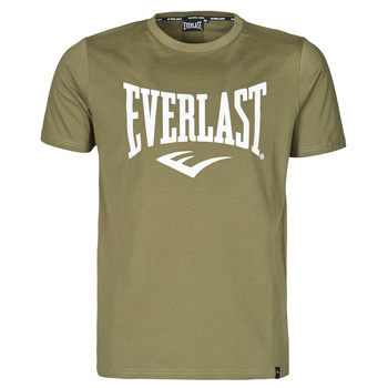 Kleidung Herren T-Shirts Everlast EVL- BASIC TEE-RUSSEL Khaki