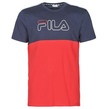Kleidung Herren T-Shirts Fila JOPI Rot / Marine