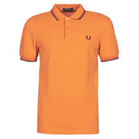 Kleidung Herren Polohemden Fred Perry TWIN TIPPED FRED PERRY SHIRT Camel