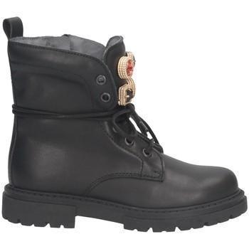 Schuhe Mädchen Boots Dianetti Made In Italy I9893S Stiefel Kind SCHWARZ SCHWARZ