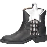 Schuhe Mädchen Klassische Stiefel Florens K2420CAM SCHWARZ