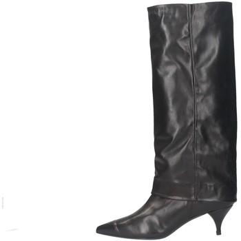 Schuhe Damen Klassische Stiefel Alchimia 23278 Stiefel Frau SCHWARZ SCHWARZ