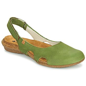 Schuhe Damen Sandalen / Sandaletten El Naturalista WAKATAUA Grün