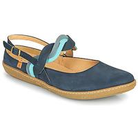 Schuhe Damen Ballerinas El Naturalista CORAL Marine
