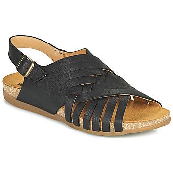 Schuhe Damen Sandalen / Sandaletten El Naturalista ZUMAIA Schwarz