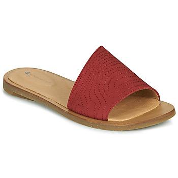 Schuhe Damen Pantoffel El Naturalista TULIP Rot