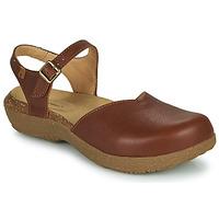 Schuhe Damen Sandalen / Sandaletten El Naturalista WAKATIWAI Braun