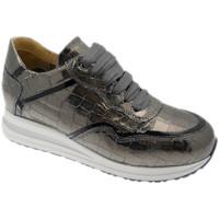 Schuhe Damen Sneaker Low Calzaturificio Loren LOC3936gr grigio
