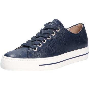 Schuhe Damen Sneaker Low Paul Green Damen Sneaker blau