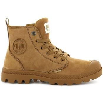 Schuhe Damen Boots Palladium Boots Pampa HI Zip Braun