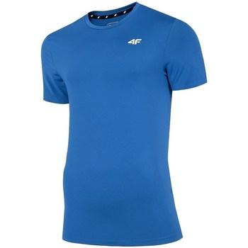 Kleidung Herren T-Shirts 4F TSMF002 Blau