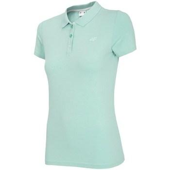 Kleidung Damen Polohemden 4F TSD008 Grün