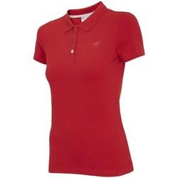 Kleidung Damen Polohemden 4F TSD008 Rot