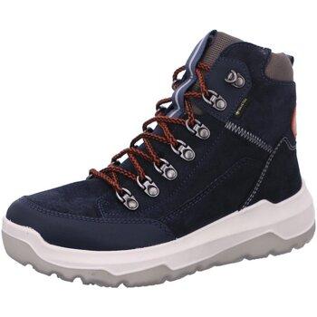 Schuhe Damen Stiefel Superfit Bergschuhe Space 1-000498-8000 blau