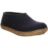 Schuhe Herren Hausschuhe Haflinger Emil´s Slipper 221002-0-70 blau
