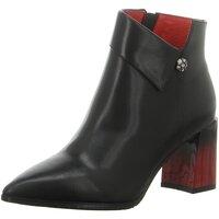 Schuhe Damen Stiefel Artiker Stiefeletten 47C293 schwarz
