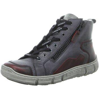 Schuhe Herren Stiefel Krisbut 6605-1-3 grau