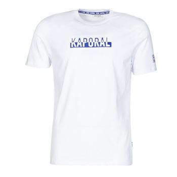 Kleidung Herren T-Shirts Kaporal DINO Weiss
