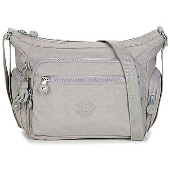 Taschen Damen Umhängetaschen Kipling GABBIE S Grau