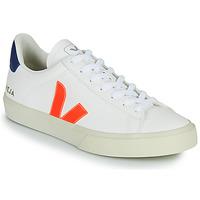 Schuhe Sneaker Low Veja CAMPO Weiss / Orange / Blau