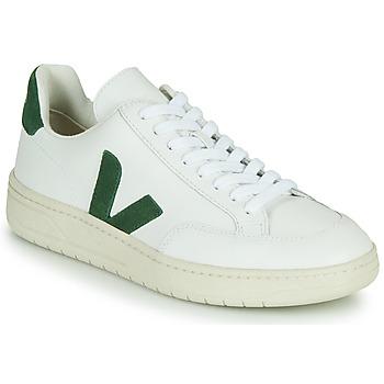 Schuhe Sneaker Low Veja V-12 Weiss / Grün