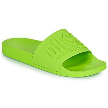 Schuhe Herren Pantoletten Diesel AFRENTY Grün
