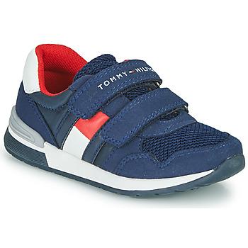 Schuhe Jungen Sneaker Low Tommy Hilfiger JEROME Blau